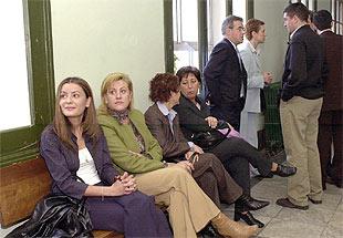 Algunos de los testigos del Ayuntamiento de Ponferrada llamados a declarar.