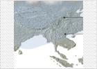 Nube contaminante en el sureste asiático