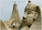 El antiguo Egipto, en arena