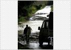 Una persona desaparecida en Málaga al ser arrastrado su coche por la crecida de un río