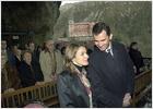 El príncipe y Letizia celebran el 36 cumpleaños de Don Felipe con una visita a Covadonga