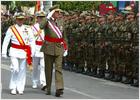 Emotivo homenaje a los militares muertos en el extranjero en el Día de las Fuerzas Armadas