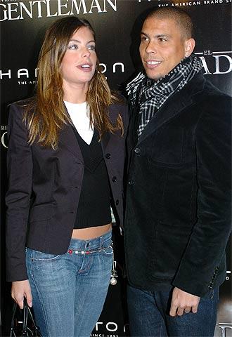 Daniela Cicarelli y Ronaldo, el pasado 10 de enero.