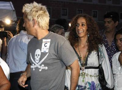 Rosario y su marido, en un concierto de Antonio Carmona en el Centro Conde Duque