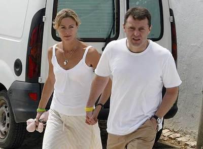 Kate y Gerry McCann, padres de Madeleine, la niña desaparecida en Portugal.