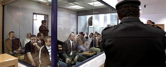 Los acusados del 11-M escuchan el veredicto esta mañana.