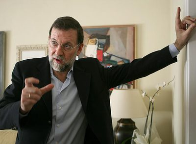 """Rajoy: """"Si gano llamaré al PSOE para que se abstenga en la investidura"""""""