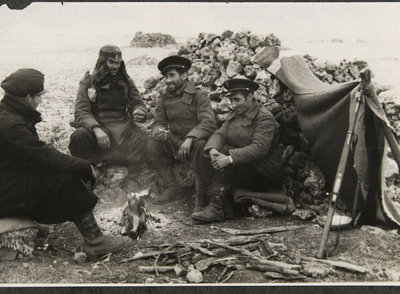 Una de las fotografías de la exposición 'Hermanos Mayo. Guerra Civil'
