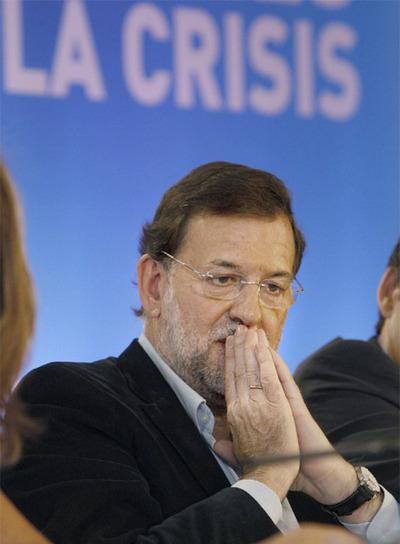 Mariano Rajoy en La Coruña, donde ha clausurado La Unión Interpalamentaria Popular