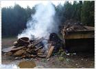 El cementerio de Sevilla quema ataúdes al aire libre por la avería de un horno