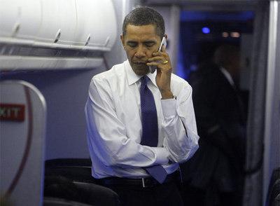 Obama ya no podrá utilizar el móvil con libertad cuando acceda a la presidencia de EE UU.