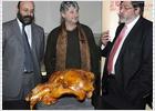 Alcalá exhibe el mayor cráneo de oso cavernario de la Península