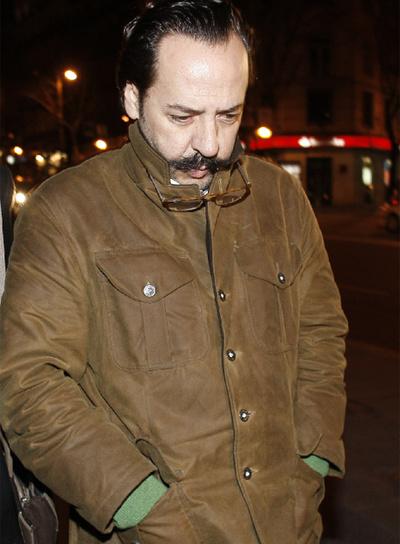 Álvaro Pérez, al salir de la Audiencia Nacional el pasado febrero.