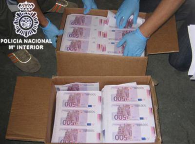 La mayor operaci n en la ue contra la falsificaci n de euros actualidad el pa s - Amueblar casa por 1000 euros ...