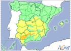 Catorce provincias en peligro de riesgo elevado de incendio forestal