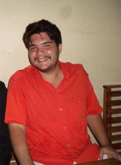 El preso hispano filipino Francisco Larrañaga, en una foto de 2009.