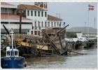 Cuatro heridos por el temporal de viento en el País Vasco