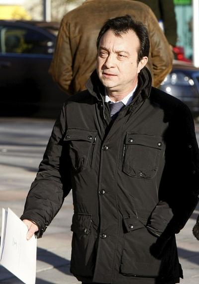 Cobo ha acudido al tribunal a cotejar su agenda con los posicionamientos de los posibles espías.