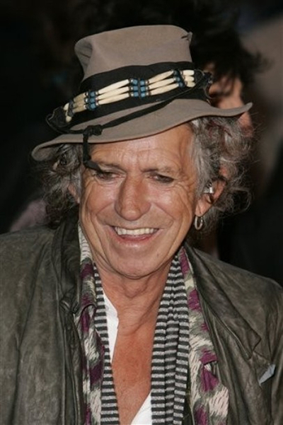 Keith Richards en una imagen de abril de 2008