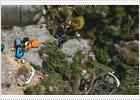 Dos heridos graves al caer por un barranco en la Alpujarra