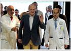 El Rey, recibido con aplausos y vítores en su reaparición pública en Badajoz