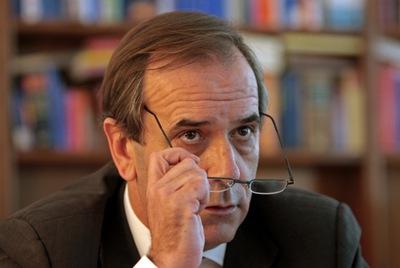 El portavoz socialista en el Congreso y ex ministro de Defensa, José Antonio Alonso.