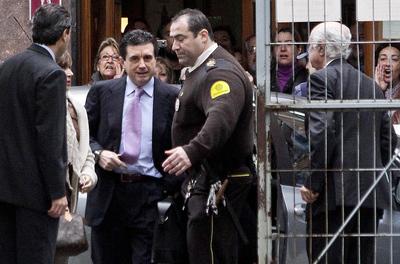 El expresidente balear ha sido increpado a su entrada en los juzgados.