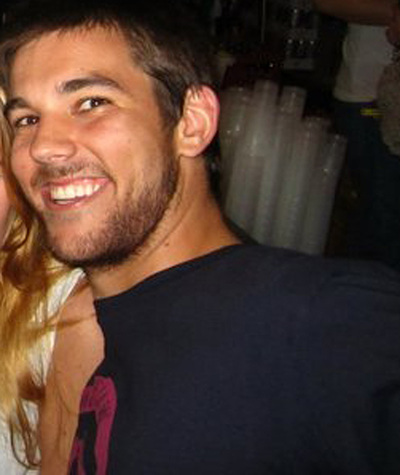 El joven desparecido el viernes en Madrid, Austin Tylor Bice.