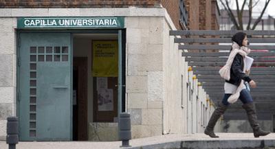 Capilla de la Facultad de Psicología de la Universidad Complutense de Madrid.