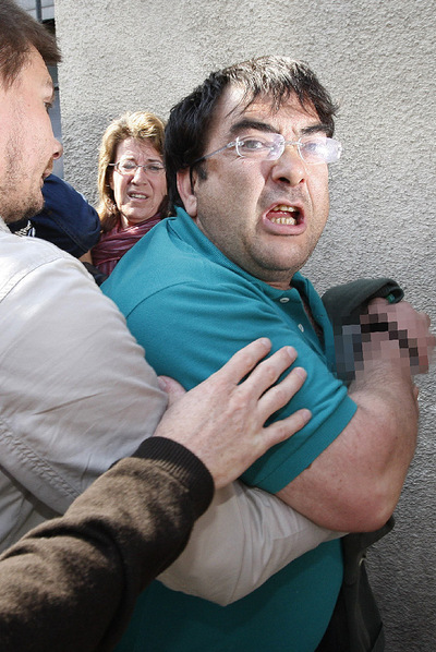 Thierry jefe del aparato militar de ETA, en el momento de su detención, en 2008.