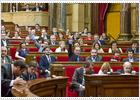 El Parlamento catalán rechaza la independencia de Cataluña