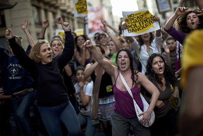 FOTOGALERIA: Protesta por las condiciones del empleo