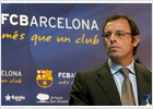 Rosell fires shot across Real's bow