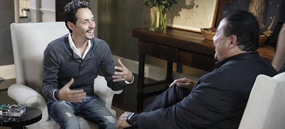 El cantante y actor Marc Anthony, durante la primera entrevista tras su separación de Jennifer Lopez