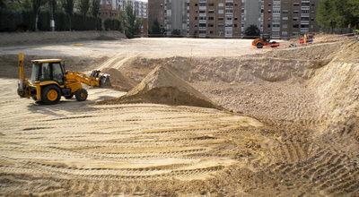 Las obras donde se han hallado los restos cerámicos.