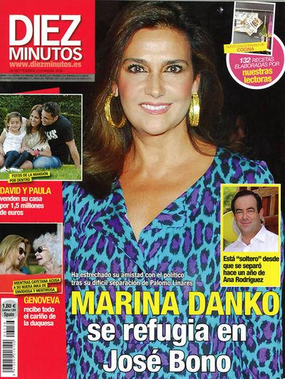 FOTOGALERIA: Marina Danko se refugia en José Bono