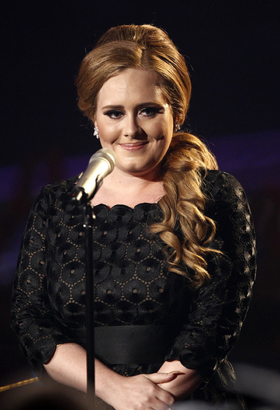 La cantante Adele, en la entrega de los premios MTV el pasado 28 de agosto.