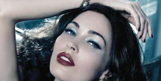 La actriz Megan Fox emula a Elizabeth Taylor en una campaña publicitaria de Armani Beauty