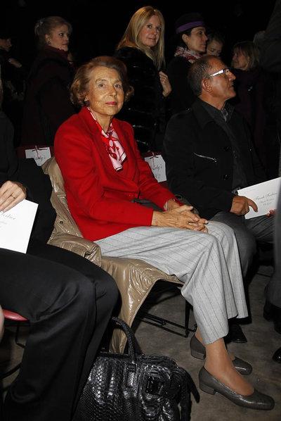 Liliane Bettencourt, en una imagen de enero de 2011