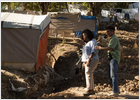 Oprah Winfrey llega a Haití para grabar un programa de televisión