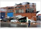 Nueve personas heridas por el temporal