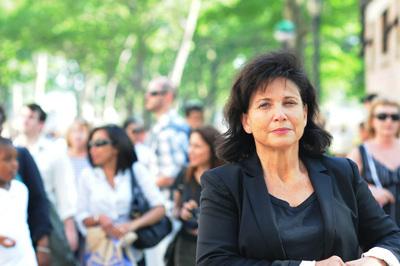 La periodista Anne Sinclair, el pasado mayo en Nueva York.