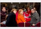 Pajín insiste en hablar de ideas en el PSOE y no de personas