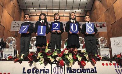 71208, el Gordo de El Niño 2012.