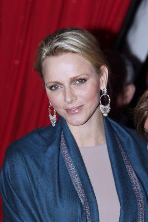 Charlene Wittstock, de 34 años, esposa de Alberto II.