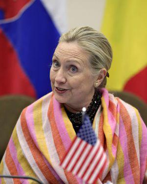 La secretaria de estado Hillary Clinton.