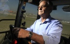 A lone furrow: Madrid's last tractor driver