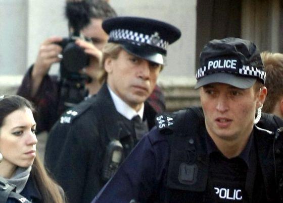 Javier Bardem durante el rodaje de 'James Bond', el 11 de marzo de 2012.