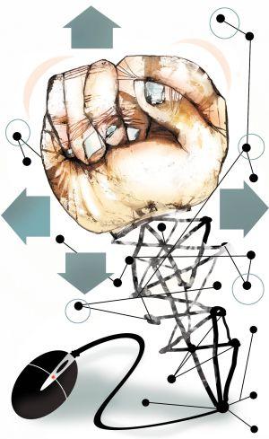 Medios sociales y democracia deliberativa