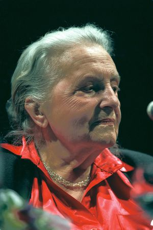 Lise London, pictured in Madrid in 2001.